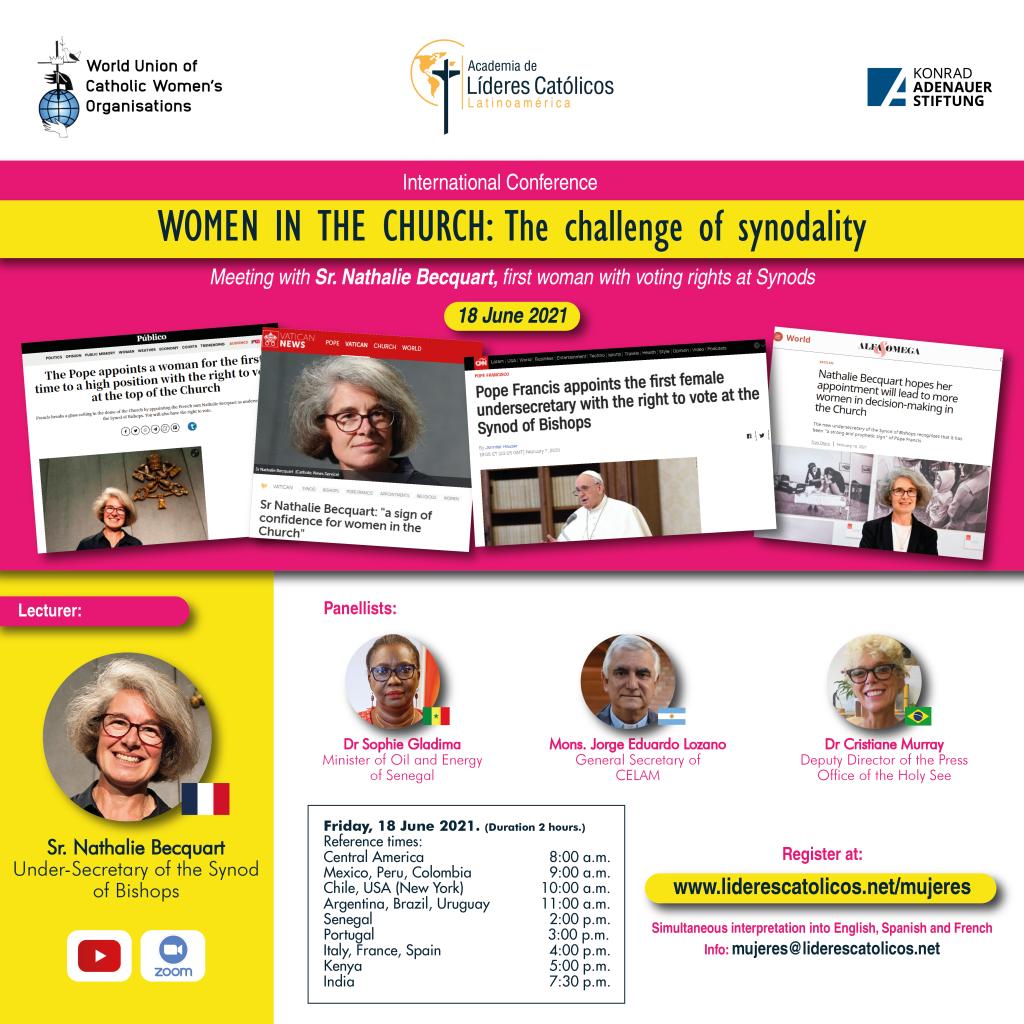 Poster Wucwo conferentie Women in the church