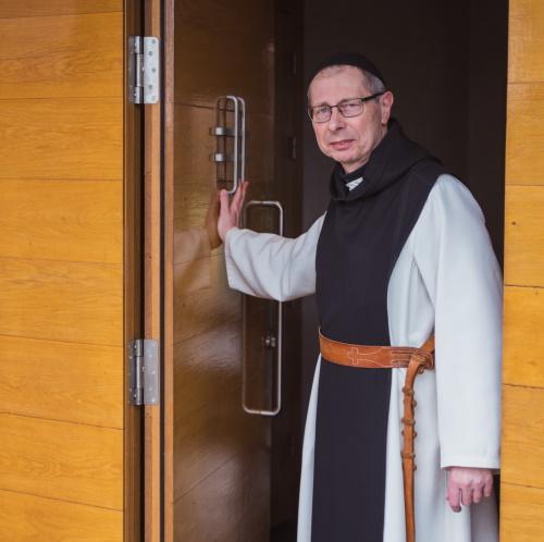 Abt Guido van Belle, abdij Maria Toevlucht Zundert, foto: Brabants Kloosterleven