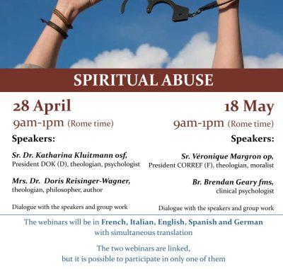 Ucesm organiseert twee webinars over Spiritual Abuse