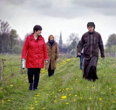 Veel belangstelling voor opening 'Ons Kloosterpad'