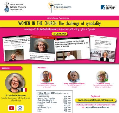 Wucwo conferentie over de rol van vrouwen in de kerk