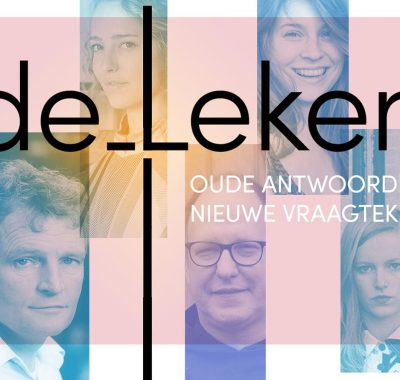 Abt Bernardus Peeters en Floris van Alkemade bij Dutch Design Week